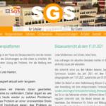 SGS Homepage in neuem Gewand